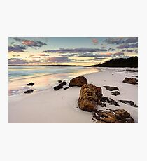 Hyams Beach Jervis Bay at sunrise  landscape seascape Photographic Print
