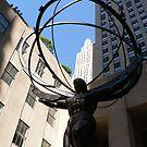 Atlas, NYC by David Thompson