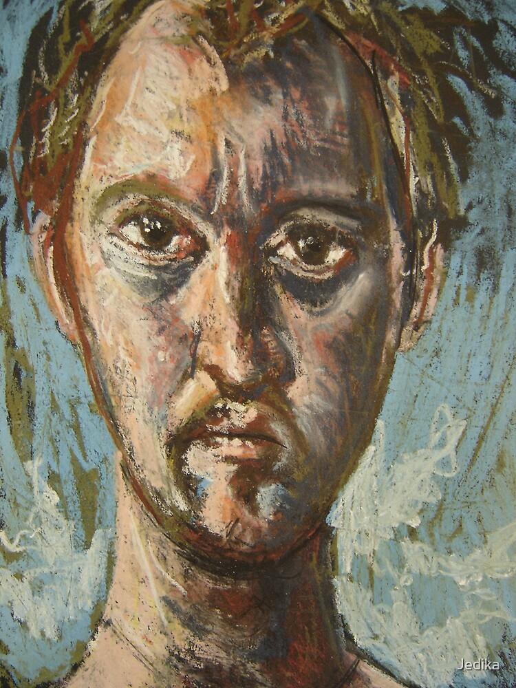 Fayum Portrait by Jedika