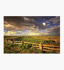 0800 The Corral - Lake Mungo Photographic Print