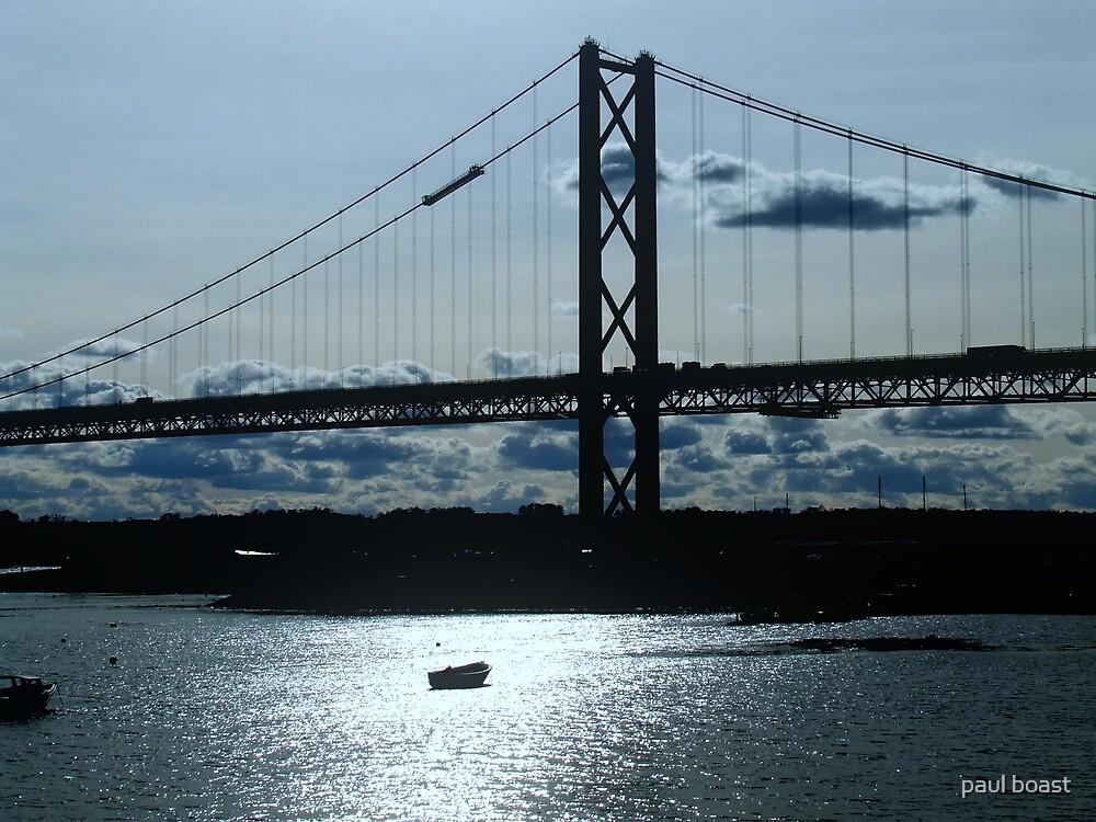 Forth Road Bridge by paul boast