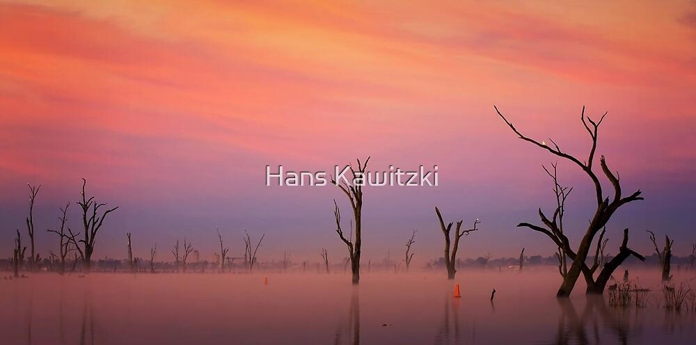 0899 Lake Mulwala impression 2 by Hans Kawitzki