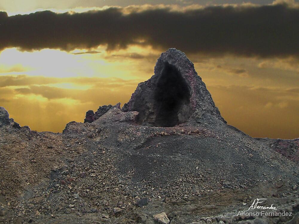 Volcano 2 by Alfonso Fernandez