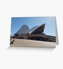 Opera House  Greeting Card
