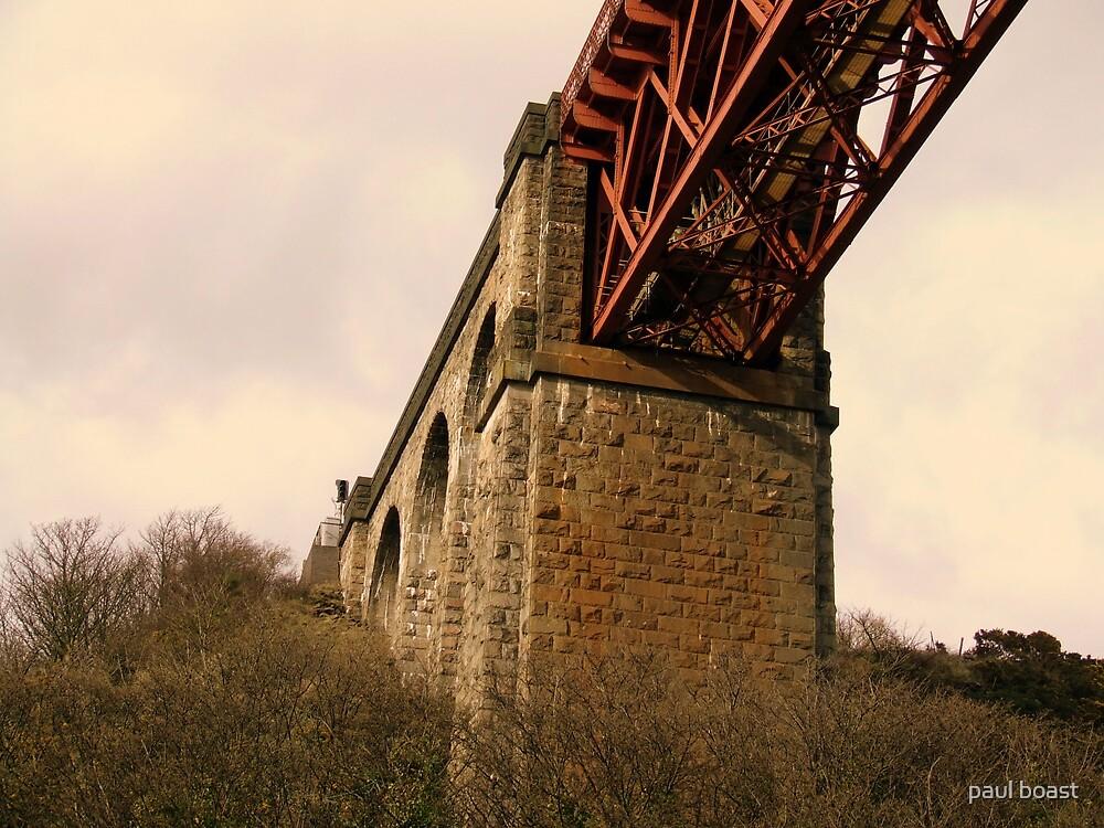 Forth Rail Bridge Structure by paul boast