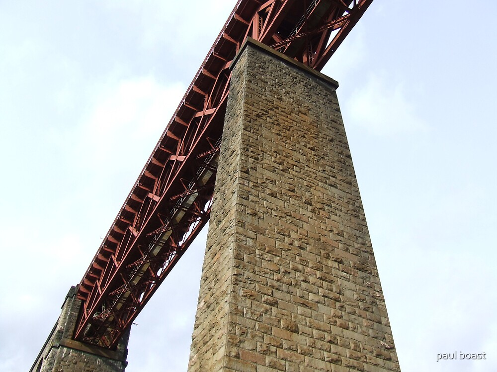 Forth Rail Bridge Structure 2 by paul boast