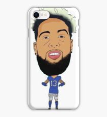 Odell Beckham Jr. Football Cartoon iPhone Case/Skin