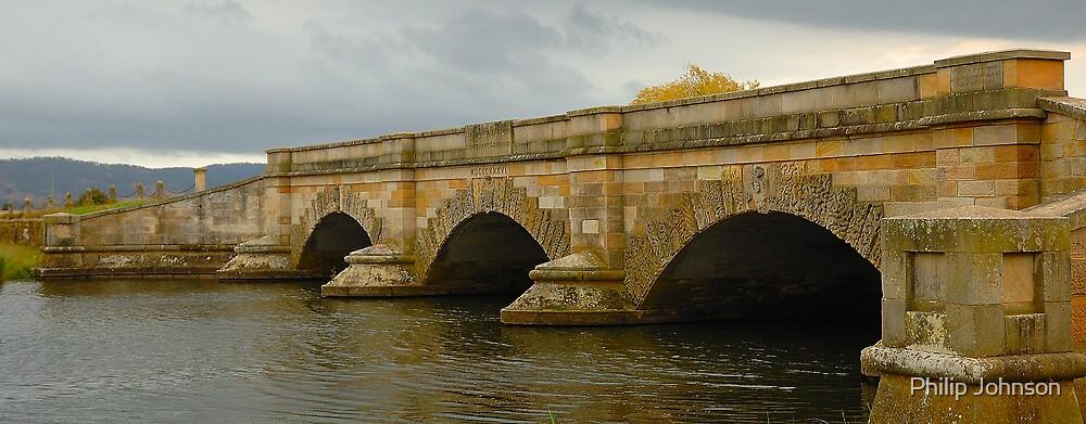 Ross Bridge  (Built 1836), Ross Tasmania by Philip Johnson