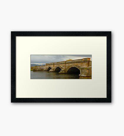 Ross Bridge  (Built 1836), Ross Tasmania Framed Print