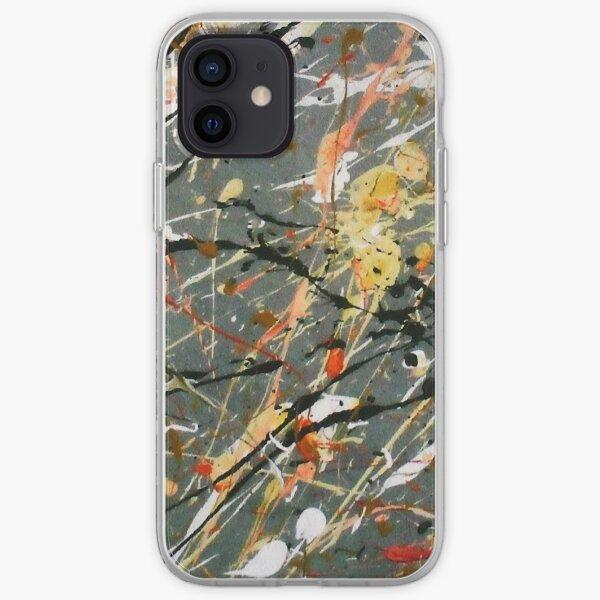Jackson Pollock Interpretation Acrylics on Canvas iPhone Soft Case