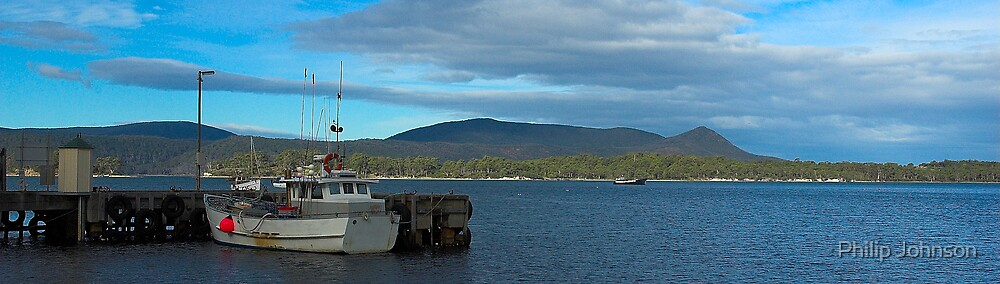 Awaiting The Tide - Port  Arthur, Tasmania by Philip Johnson