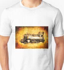 Dampflok locomotive vintage 11 Unisex T-Shirt