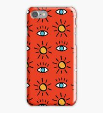 Egypt red iPhone Case/Skin