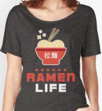 Ramen Life Kawaii Design Women's Relaxed Fit T-Shirt