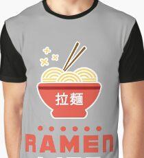 Ramen Life Kawaii Design Graphic T-Shirt