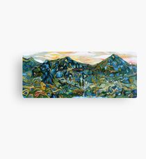 The Northern Marches of Ithilien Canvas Print