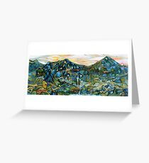 The Northern Marches of Ithilien Greeting Card