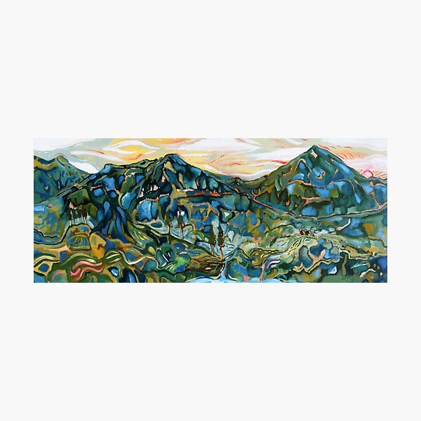 The Northern Marches of Ithilien Photographic Print