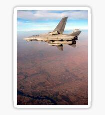 An F-14D Tomcat conducts a mission over Northern Iraq. Sticker