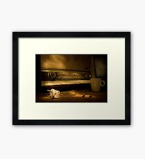Radio Electricity Framed Print