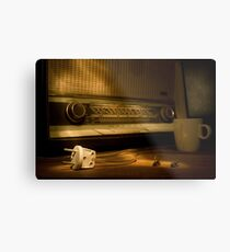 Radio Electricity Metal Print