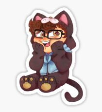 Morality Catsuit  Sticker