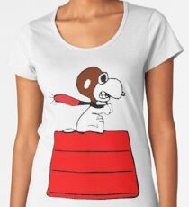 snoopy Women's Premium T-Shirt