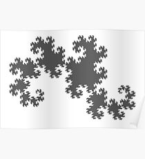 The Dragon Curve Poster