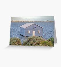 Crawley Boatshed Greeting Card