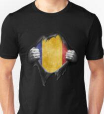 Chad Flag. Proud Chadian T-Shirt