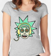 tiny rick Women's Fitted Scoop T-Shirt
