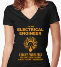 Camiseta entallada de cuello en V ELECTRICAL ENGINEER