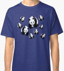 Panda Pattern Dress, Skirt, Cell Phone Skin, Stickers Classic T-Shirt