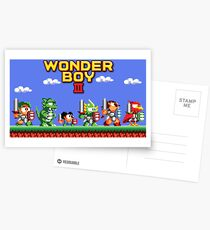 Wonder Boy Postcards