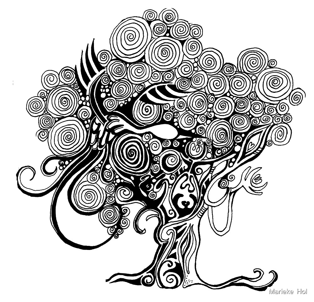 Tree of life by Marieke  Hol