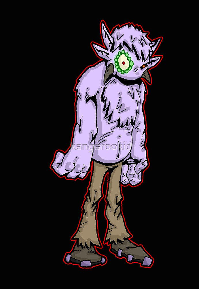 creature from the bizarre: 8.1 by kangarookid