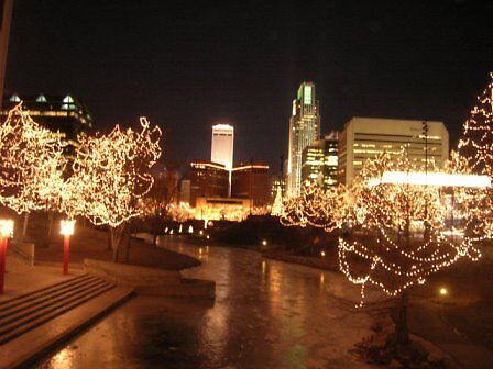 Omaha at Night by Doug Bend