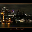 Sydney - City of Lights by Kim Roper