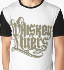 WHISKEY MYERS BROWN LOGO Graphic T-Shirt
