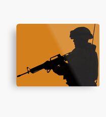Military  Metal Print