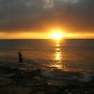 Caribbean Sunset by Doug Bend