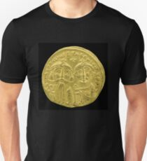 Ancient Byzantine gold coin T-Shirt