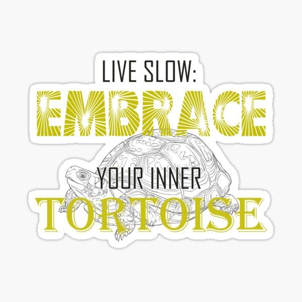 Embrace your inner tortoise Sticker