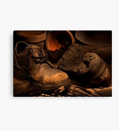 The Gardner's Shed Canvas Print