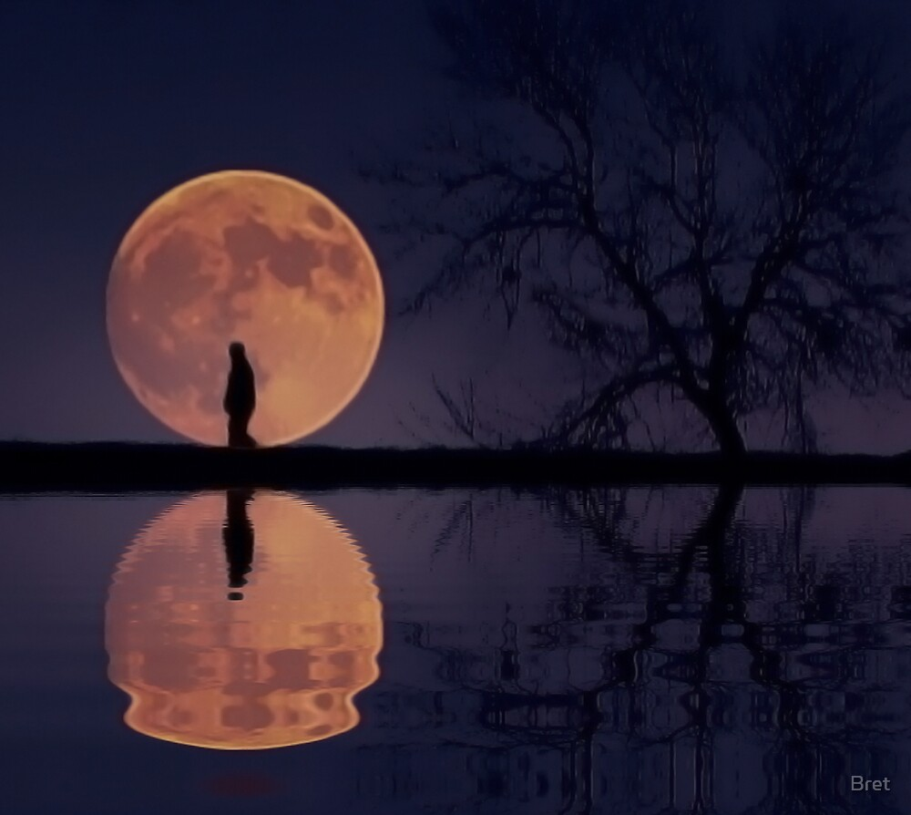 Man in the Moon by Bret