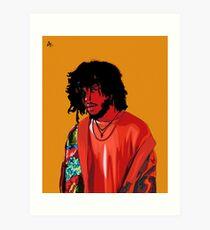 6LACK Art Print