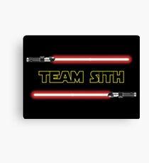 Team Sith Canvas Print