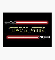 Team Sith Photographic Print