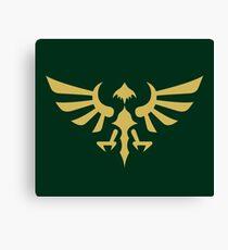 Hylian Crest (gold) Canvas Print