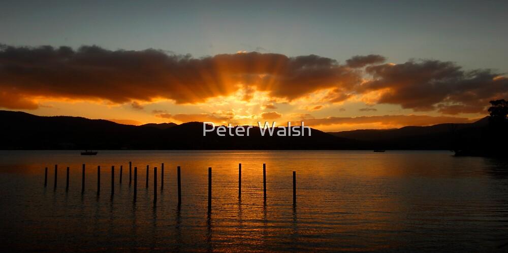 North West Bay, Tasmania by Peter Walsh